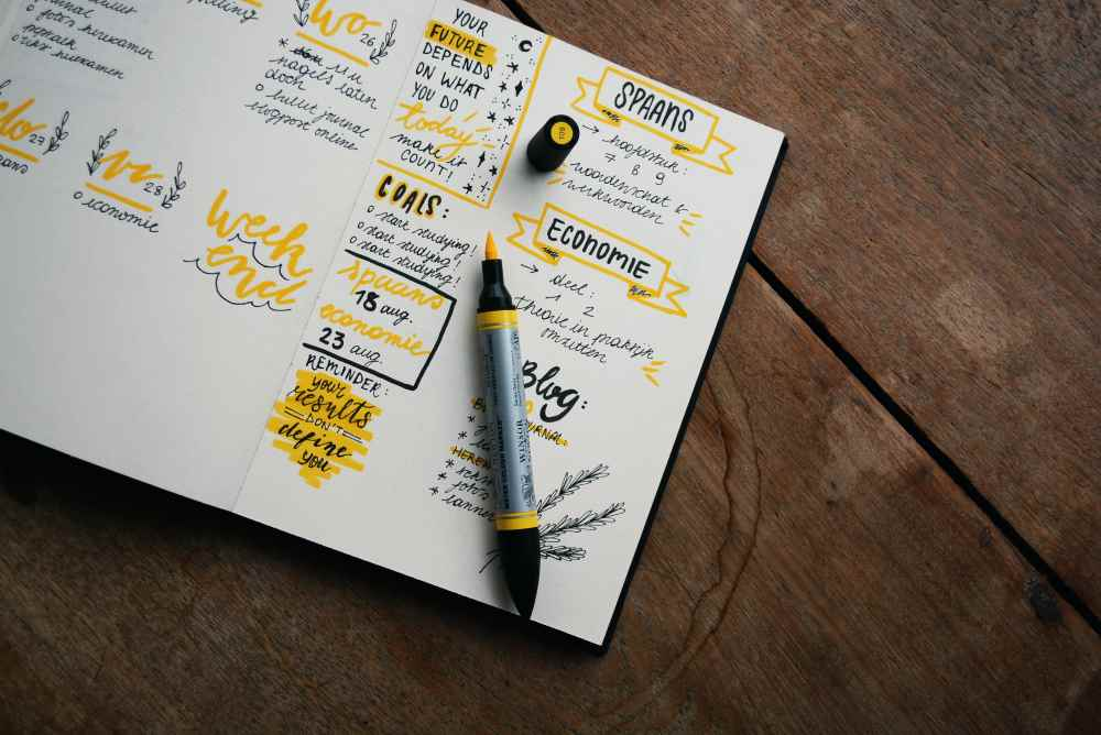 How I would like my planner to look. Photo by Estée Janssens on Unsplash