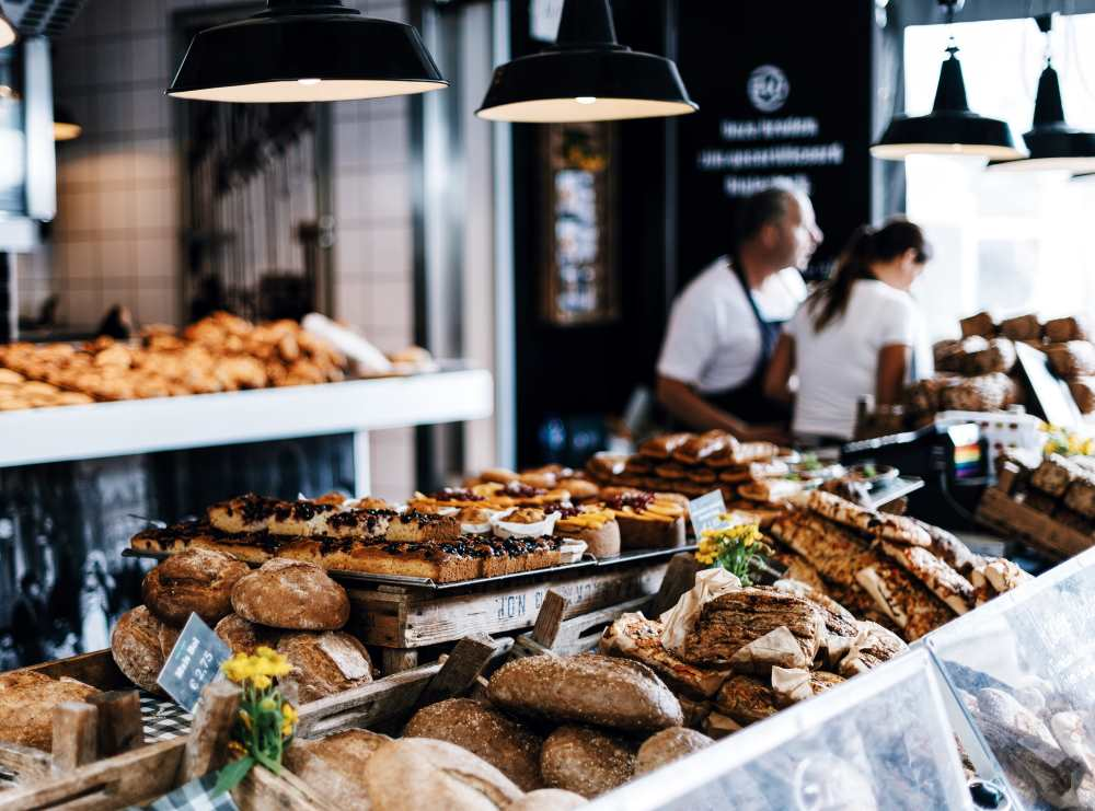 A photo of a bakery. A bakery. Photo by Roman Kraft on Unsplash