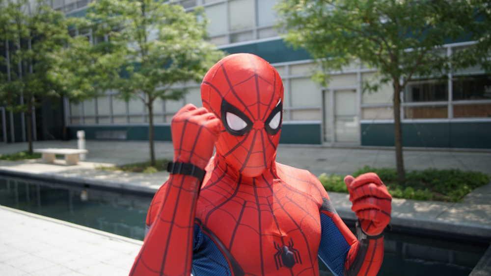Spiderman. Photo by Stem List on Unsplash