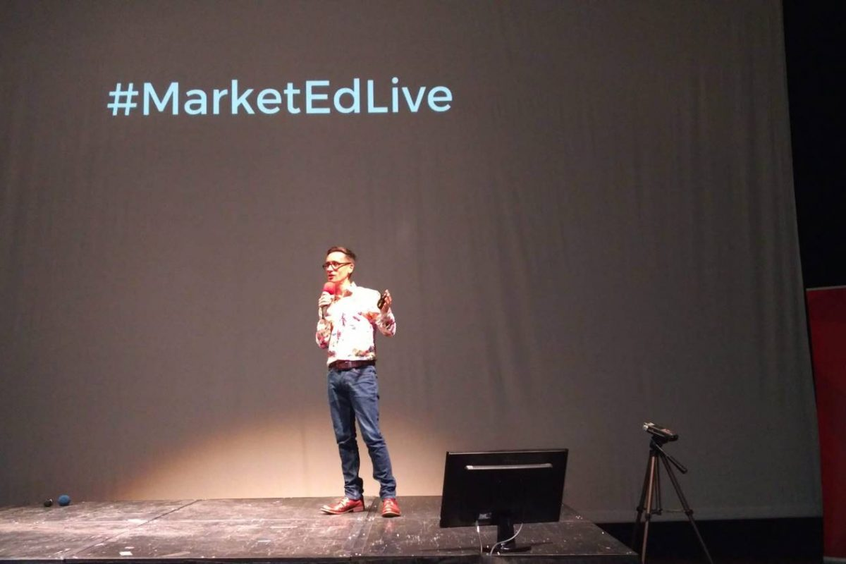 Paul Ince opens MarketEd.Live 2018