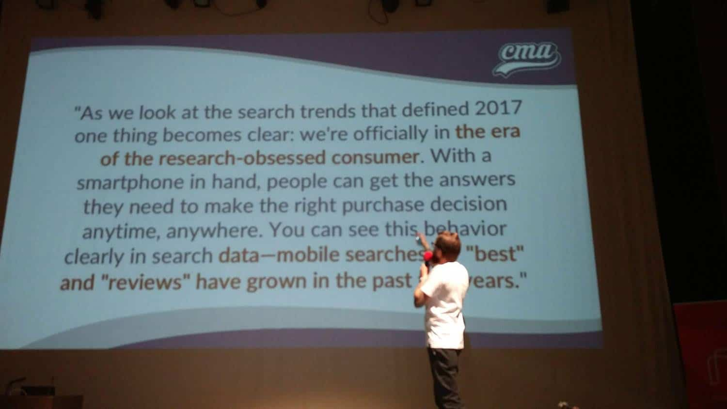 Chris Marr talks about the research-obsessed consumer