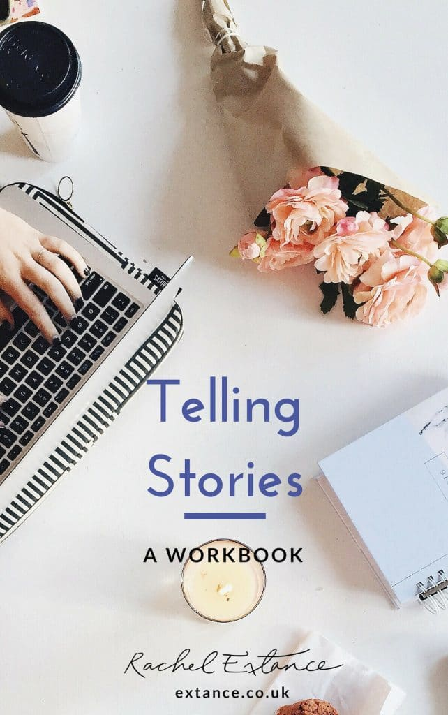 Cover of Telling Stories Workbook by Rachel Extance