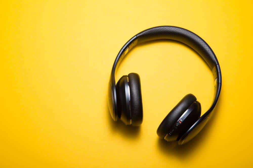 A photo of some headphones. Are you listening to feedback?