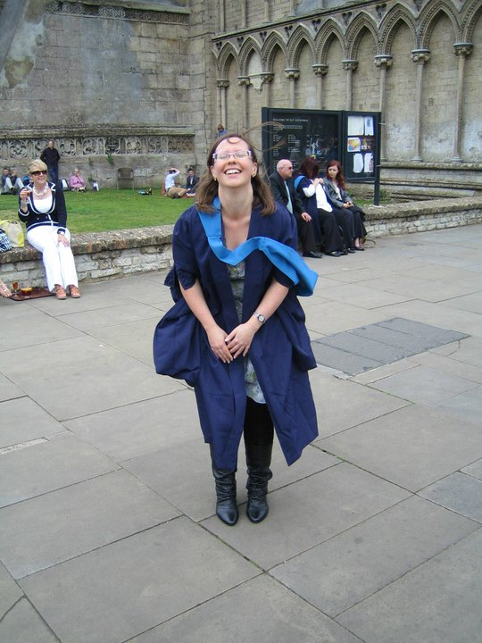 My OU graduation at Ely Cathedral