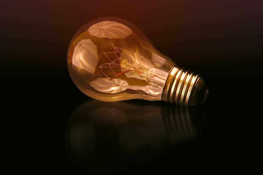 A photo of a lightbulb. Photo by Johannes Plenio on Unsplash