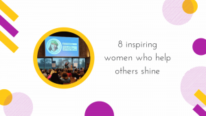 Cover image for 8 inspiring women who help others shine