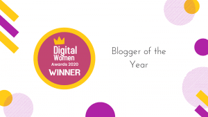 Cover image for Digital Women Awards Blogger of the Year