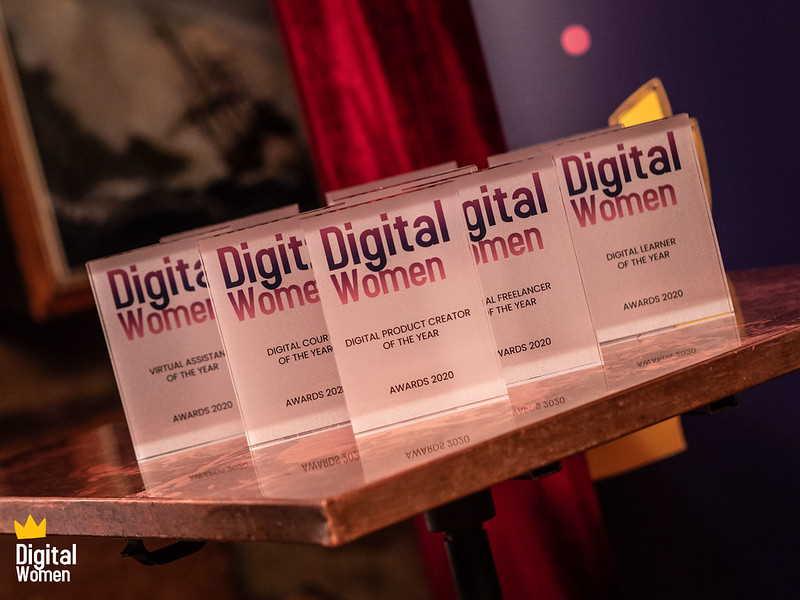 The Digital Women Awards. Photo by Edwin Ladd