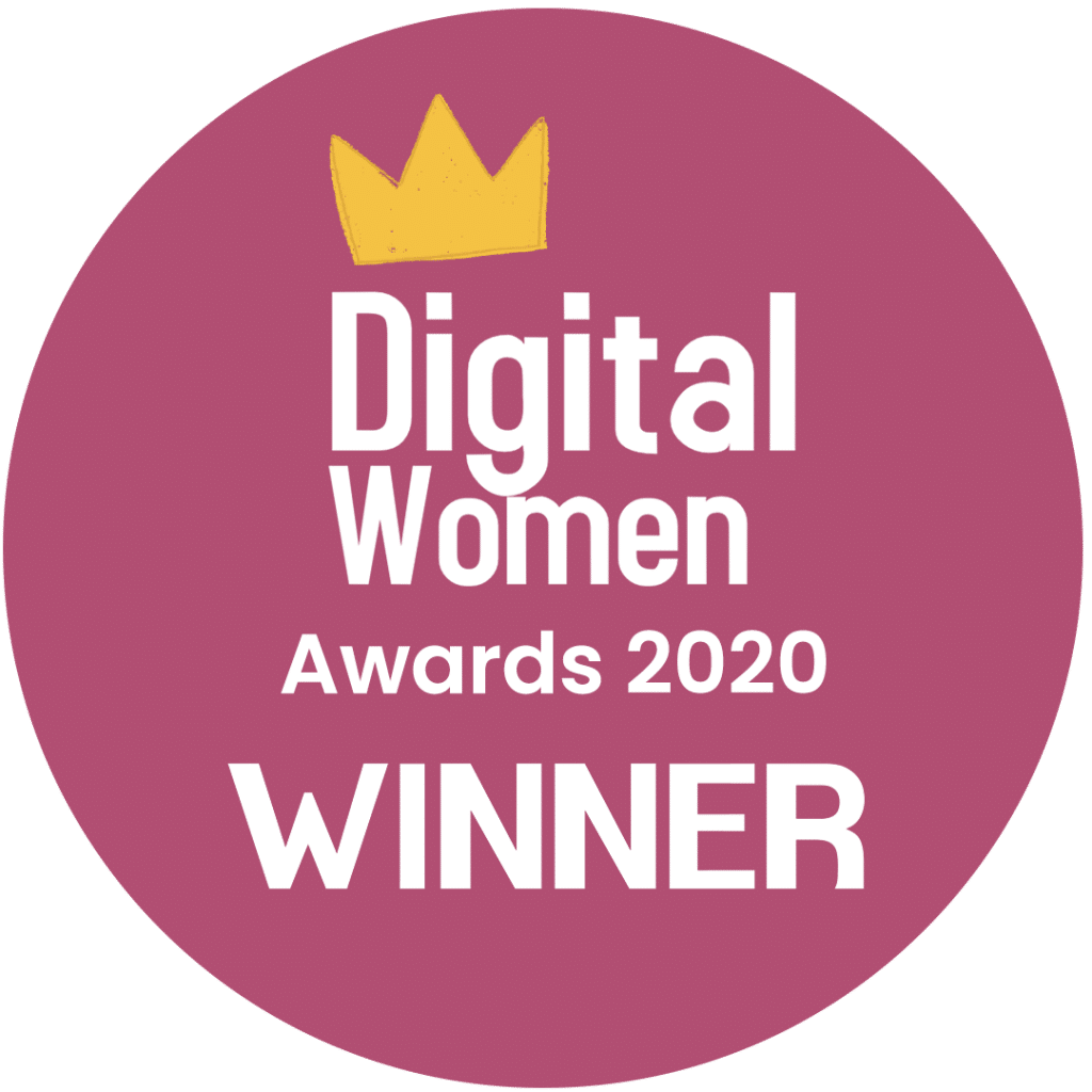 Digital Women Awards 2020 Winner
