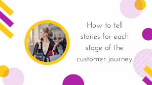 Cover image for how to tell stories at each stage of the customer journey