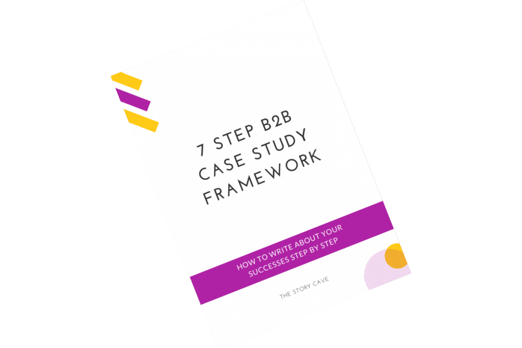 7 step case study framework ebook cover