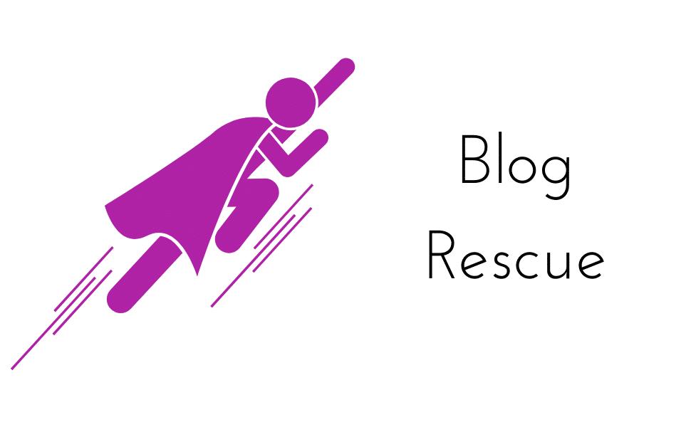 Blog rescue