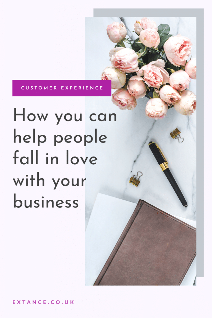 How can you help people fall in love with your business Pinterest image