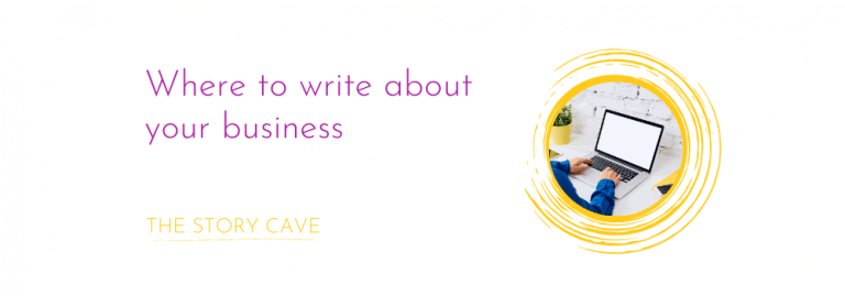 Where to write about your business