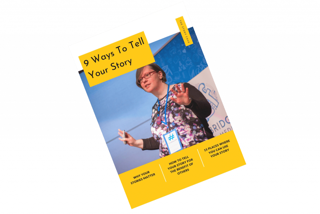 9 ways to tell your story ebook cover